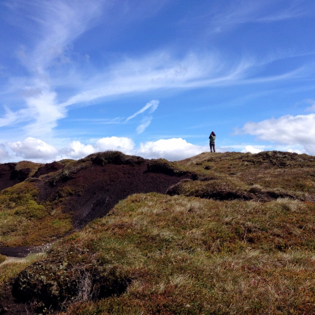 Outdoor Bloggers Weekend at Edale May 2015, Jenni Tulip on Kinder Scout